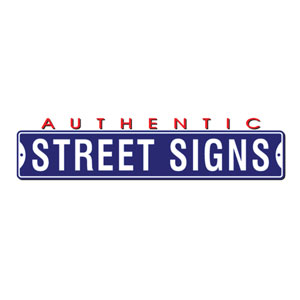 Authentic Street Signs Coupon Codes & Deals